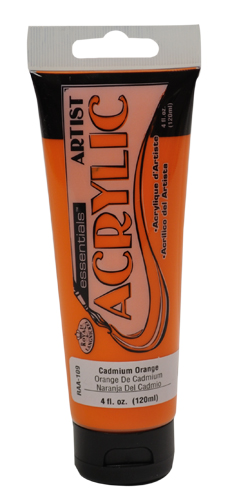 RAA-109 - 4oz Acrylic-Cadmium Orange picture