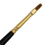 L518B-2 - RED SABLE OIL BRIGHT BRUSH picture