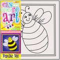 DCDA-209 - CAN DO ART BUMBLE BEE CANVAS