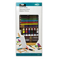 REA5320 - 40PC MIXED MEDIA SMALL H-EASEL ART SET