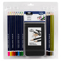 RART-2103 - DRAWING PENCIL SET W/ SKETCHBO