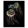HOLO24 - HOLOGRAPHIC ENGRAVING JELLYFISH