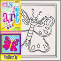 DCDA-207 - CAN DO ART BUTTERFLY