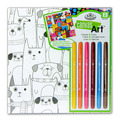 RTN-265 - CANVAS ART MARKERS DOGS