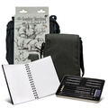 FA-304 Graphite Sketching Satchel Set