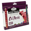 OILPA-524 - OIL PASTELS SMALL 24 COLORS