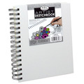RCSB-A5 - A5 CANVAS COVER SKETCH BOOK