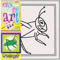 DCDA-211 - CAN DO ART GRASSHOPPER