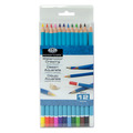 WPEN-12 - 12 PC WATERCOLOR PENCILS
