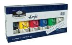 ACR75-6 - 75 ML Acrylic Paint 6 Pack