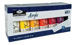ACR75-12 - 75 ML Acrylic Paint 12 Pack