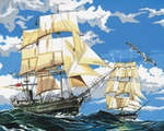 PCL1 - SHIPS CANVAS PAINTING