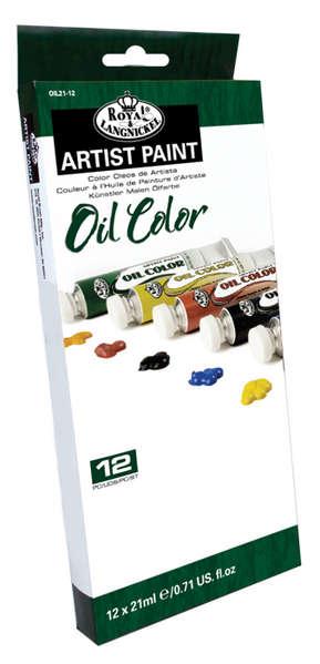 OIL21-12 21 ML Oil Paint 12 Pk picture