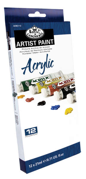 ACR21-12 - 21 ML Acrylic Paint 12 Pack picture