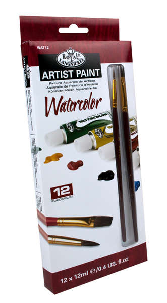 WAT12 - 12 ML Watercolor Paint 12 Pk W picture