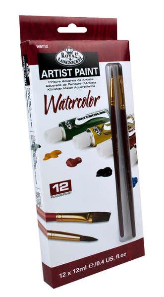 WAT12 - 12 ML Watercolor Paint 12 Pk W picture