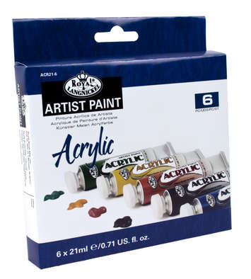ACR21-6 - 21 ML Acrylic Paint 6 Pack picture