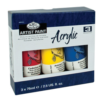 ACR75-3 - 1.575 ML Acrylic Paint 3 Pack picture
