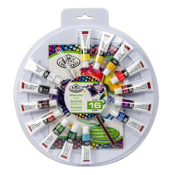 RTN-181 - WATERCOLOR PAINT COLOR WHEEL picture