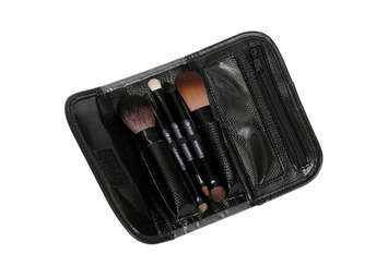 BTRAVEL-PL - PURPLE TRAVEL BRUSH SET 8PC picture