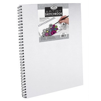 RCSB-A3 - A3 CANVAS COVER SKETCH BOOK picture