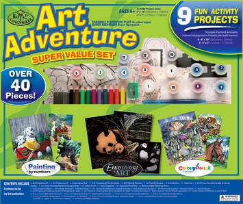 AVS-103 - ART ADVENTURE SET 9 PC ACTIVIT picture