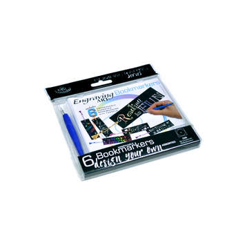 CA26 - 6PC ENGRAVE ART BOOKMARKS picture