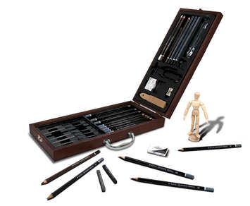 RSET-SKET2020 - 40pc Sketching Artist Case picture