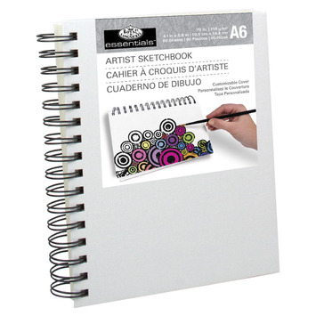 RCSB-A6 - A6 CANVAS COVER SKETCH BOOK picture