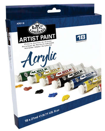 ACR21-18 21 ML Acrylic Paint 18 Pack picture