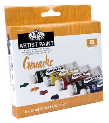 GOU21-6 - 21 ML Gouche Paint 6 Pk picture