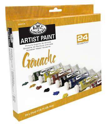 GOU21-24 - 21 ML Gouche Paint 24 Pk picture