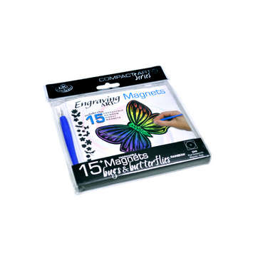 CA10 - ENGRAVE ART MAGNETS BUGS picture