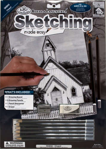 SKBN8 - SKETCHING MADE EASY CHAPEL picture