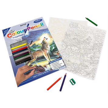 CPN11 - 3T -COLOUR BY # PENCIL WOLVES picture