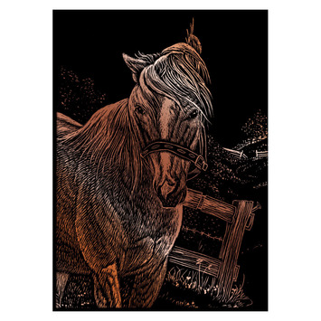 COPMIN-103 - MARE COPPER MINI ENGRAVING ART picture