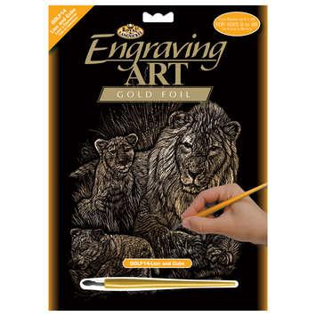 GOLF14 - Gold Foil/Lion & Cubs picture