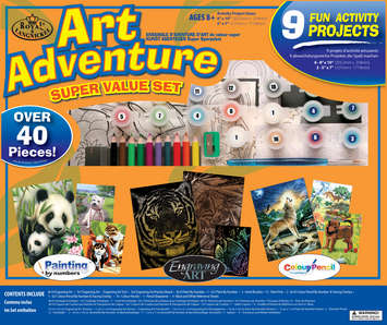 AVS-104 - ART ADVENTURE SET 9 PC ACTIVIT picture