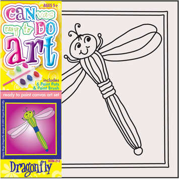 DCDA-212 - CAN DO ART DRAGONFLY picture
