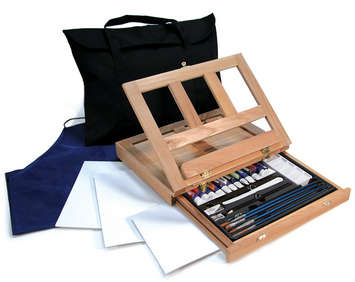 REA4901 - Acrylic Easel Set picture