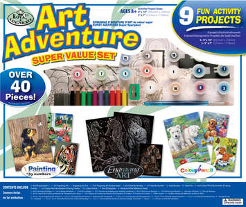 AVS-102 - ART ADVENTURE SET 9 PC ACTIVIT picture