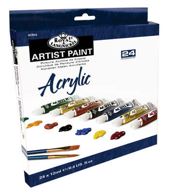 ACR24 - 12 ML Acrylic Paint 24 Pk picture