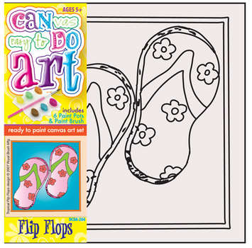 DCDA-204 - CAN DO ART FLIP FLOPS picture