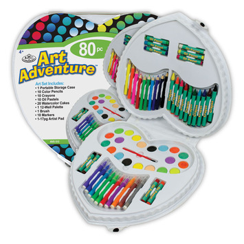 AVS-512 - ART ADVENTURE 80 PC SET picture