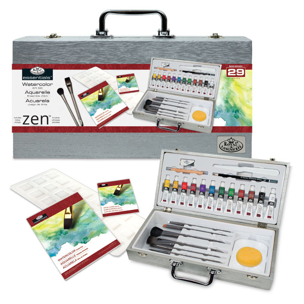 Zen Watercolor Langnickel Wat8301 Set Rzen Box Royalamp; Tc3JFK1l