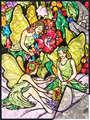 FPBN-5 - Flower Fairies foil pbn