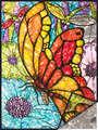 FPBN-1 - Butterflies FoilPaintByNumbers
