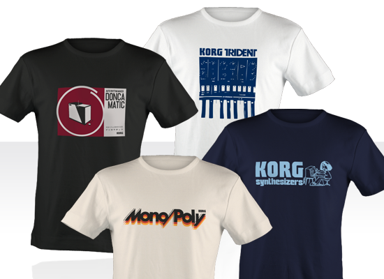 Korg Vintage T-Shirt Collector Pack Large picture