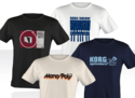 Korg Vintage T-Shirt Collector Pack Small