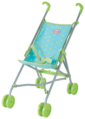 Blue/Green Umbrella Stroller picture
